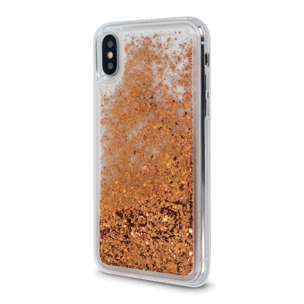 Θήκη Huawei P40 Lite E Crystal Glitter Χρυσό