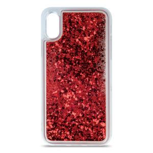 Θήκη Huawei P30 Lite Crystal Glitter Κόκκινο