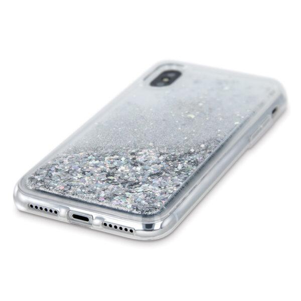 Θήκη Huawei Y7 Prime 2019 Crystal Glitter Ασημί