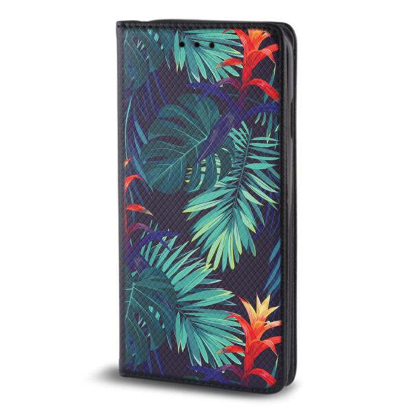 Θήκη πορτοφόλι Huawei P Smart τύπου Flip Magnet Tropical D1